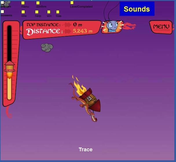 Игра Полёт дракона онлайн