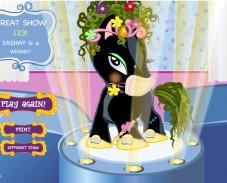 Игра Пони на конскурсе онлайн