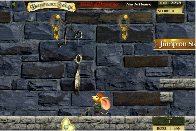 Игра Приключения Десперо онлайн