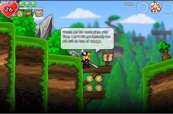 Игра Приключенческая история онлайн