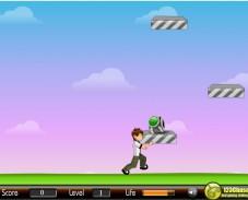 Игра Прыжки Бен-10 онлайн