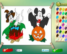Игра Раскраска Микки Маус онлайн