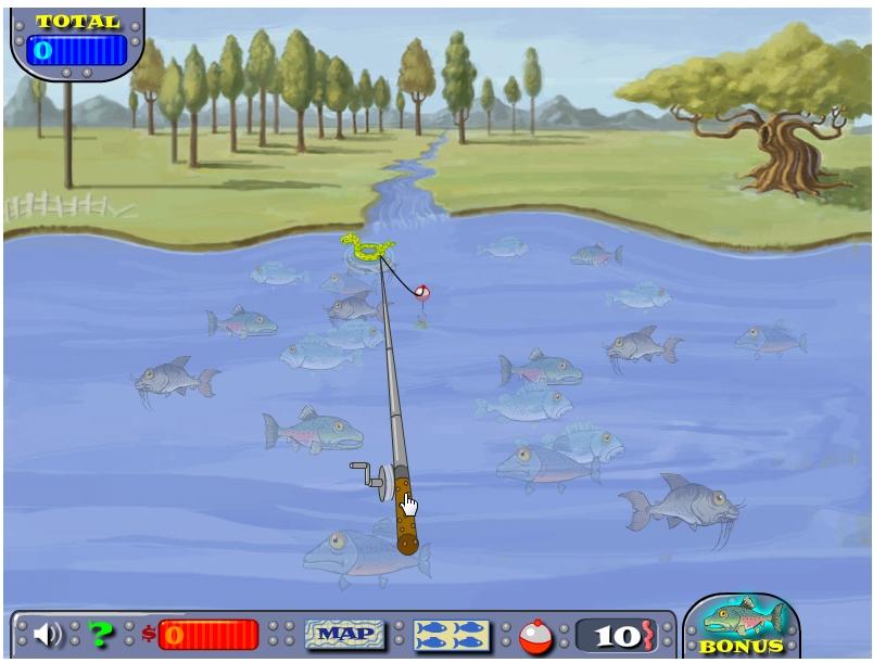 Игра Рыболов-чемпион онлайн