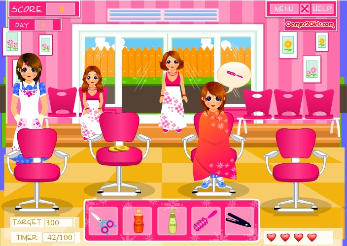 Игра Стильный салон красоты онлайн