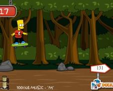 Игра Скейтборд с Бартом Симсоном онлайн