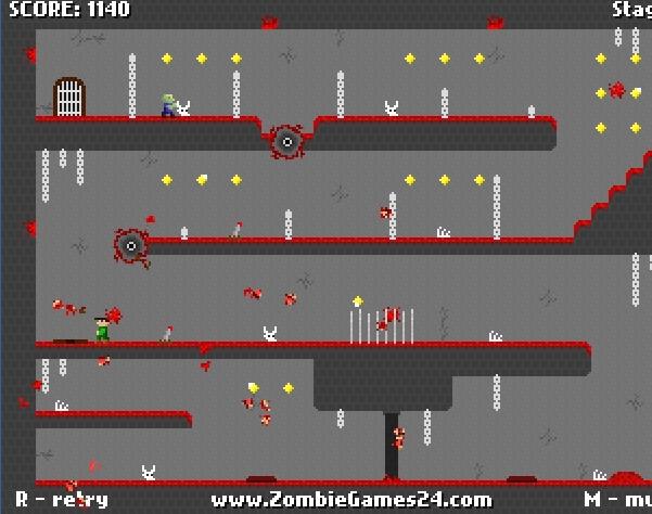 Игра Склеп с зомби онлайн