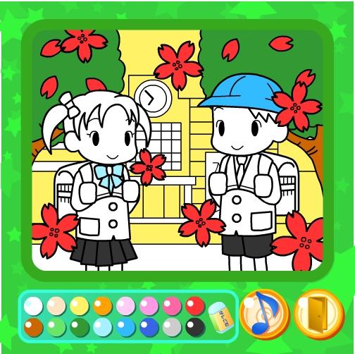 Игра Скоро в школу онлайн