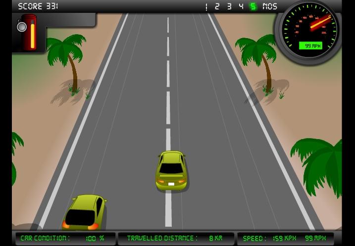 Игра Сумасшедший водитель онлайн
