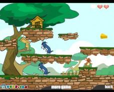 Игра Сыр Джерри онлайн