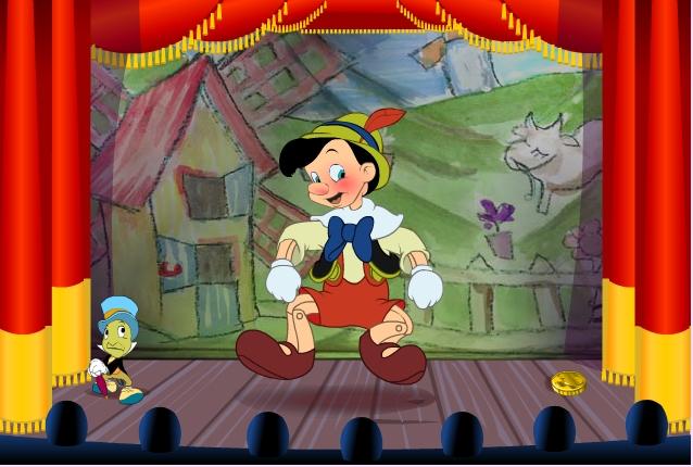 Игра Танец Пиноккио онлайн