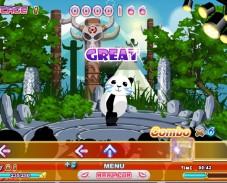 Игра Тропический танец Панды онлайн