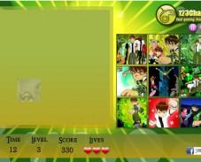Игра Угадай картинку Бен-10 онлайн