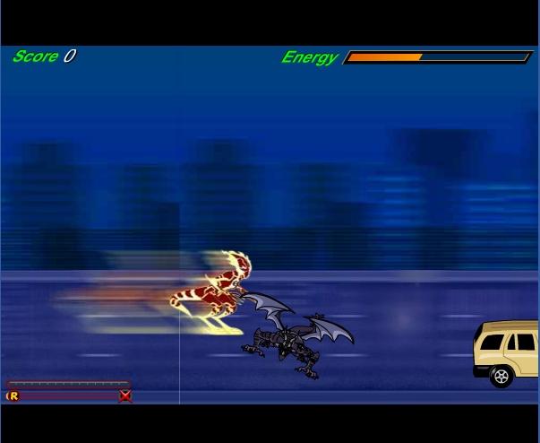 Игра Человек-Огонь — Бен 10 онлайн