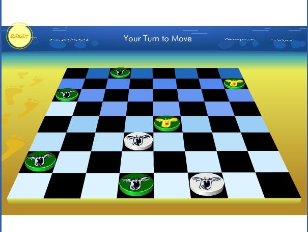 Игра Шашки собачки онлайн