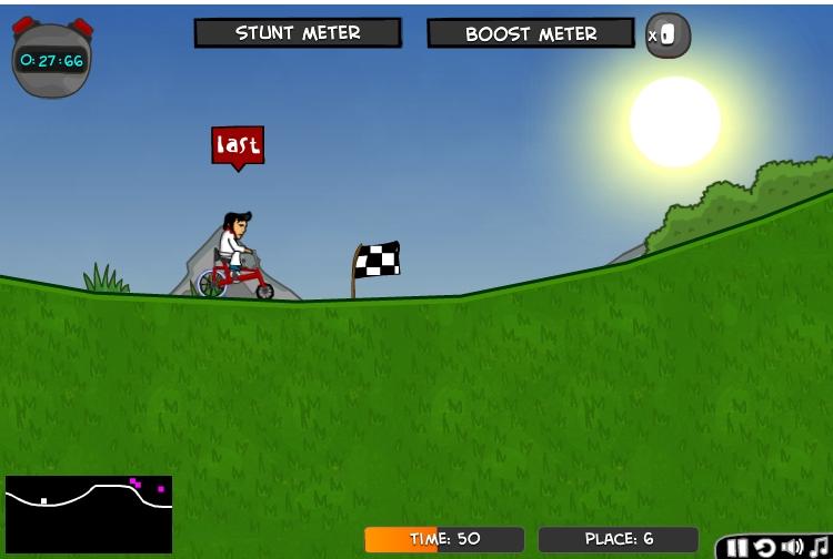 Игра Элвис на велосипедах онлайн