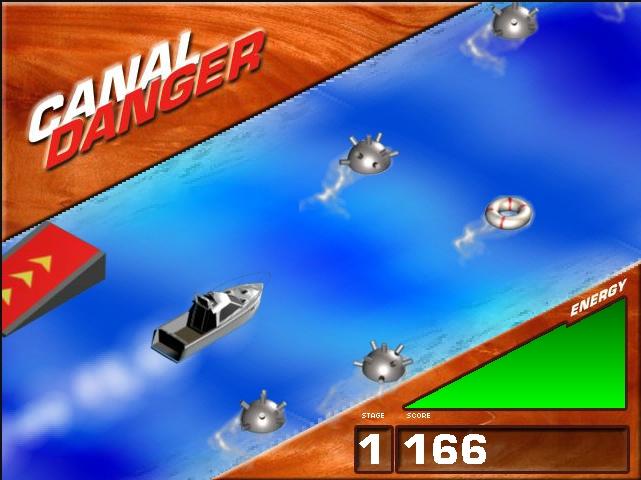 Игра Canal Danger онлайн