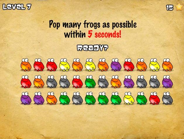 Игра Click The Frog онлайн