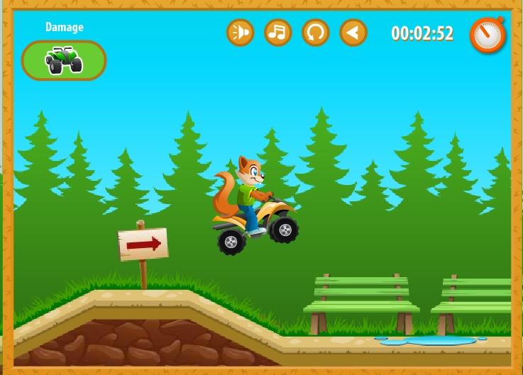 Игра Crazy Squirrel онлайн