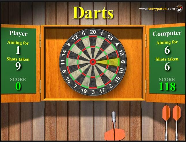 Игра Darts онлайн