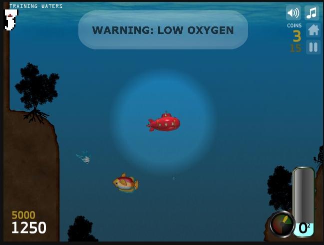 Игра Deep Sea Diver онлайн
