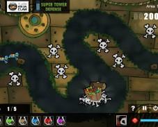 Игра Defence Underwater онлайн
