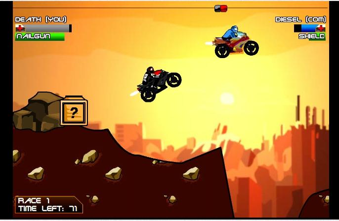 Игра Diesel and Death онлайн