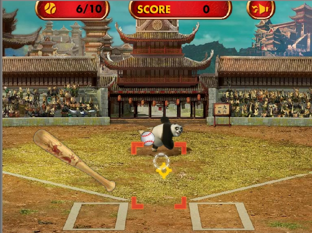 Игра Kung Fu: Home Run Derby онлайн