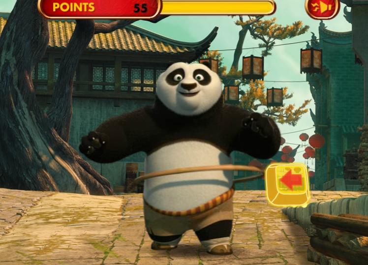 Игра Kung Fu: Hula Challenge онлайн