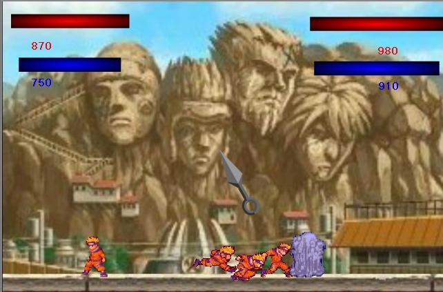 Игра Naruto Fighting онлайн