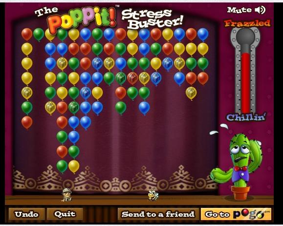 Игра Poppit! Stress Buster онлайн