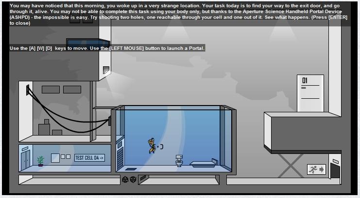 Игра Portal онлайн