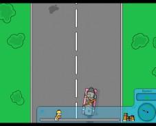 Игра Simpsons Race онлайн