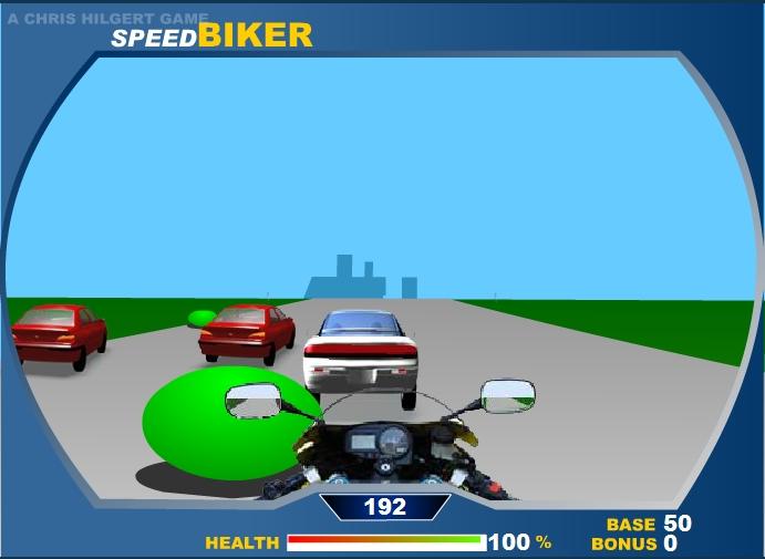 Игра Speed Biker онлайн
