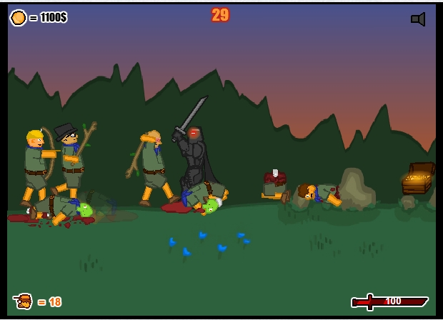 Игра Staggy the Boy Scout Slayer II онлайн