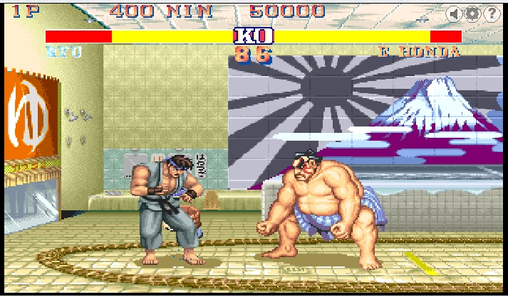 Игра Street fighter 2 онлайн