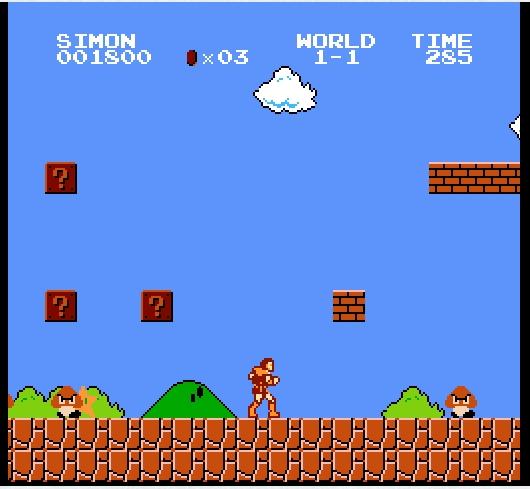 Игра Super Mario Crossover онлайн