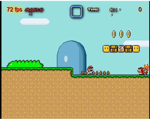 Игра Super Mario World онлайн