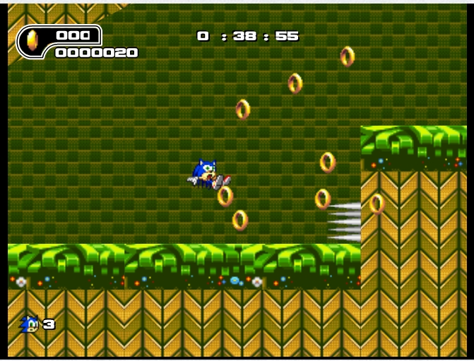 Игра Ultimate Flash Sonic онлайн