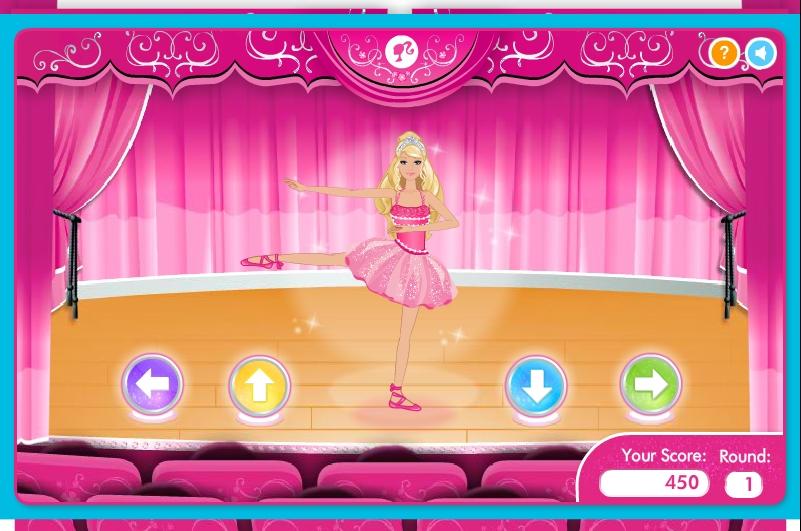 Игра Барби звезда балета онлайн