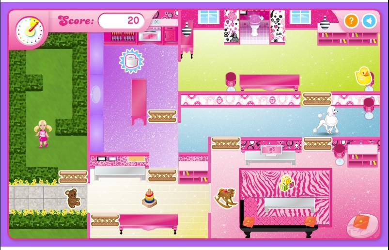 Игра Барби — лучшая няня онлайн