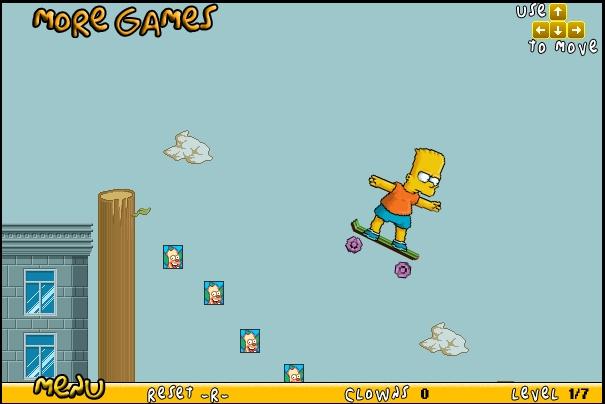 Игра Бард на скейте онлайн