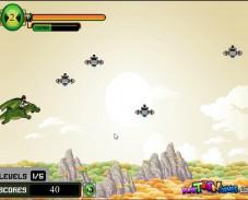 Игра Бен 10 на драконе онлайн