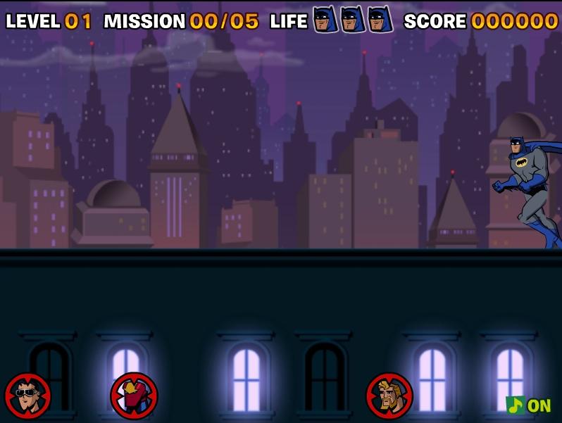 Игра Бэтмен прыжки онлайн