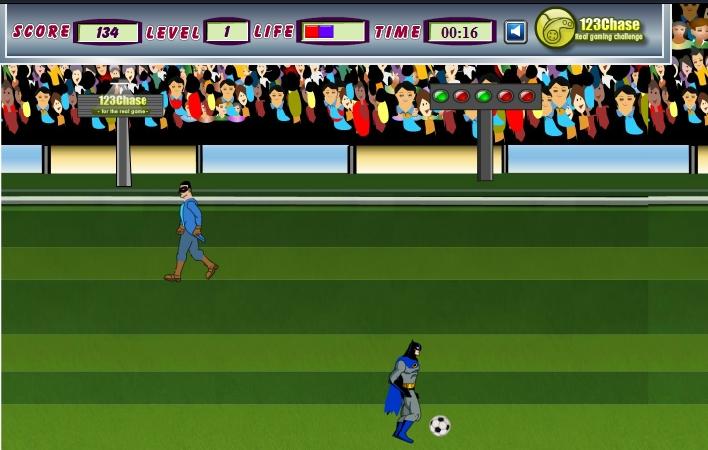 Игра Бэтмен футболист онлайн