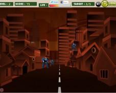 Игра Бэтмэн против преступников онлайн