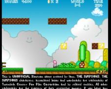 Игра Гомер как Марио онлайн