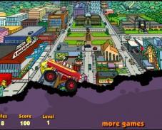 Игра Гомер на машине онлайн