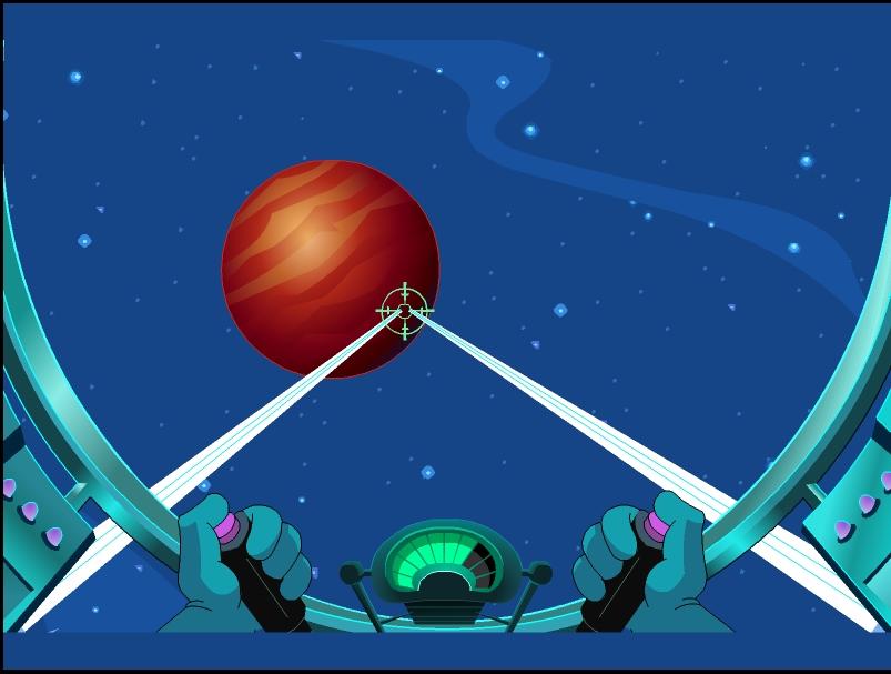Игра Даффи в космосе онлайн