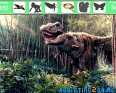 Игра Динозавры и поиск онлайн