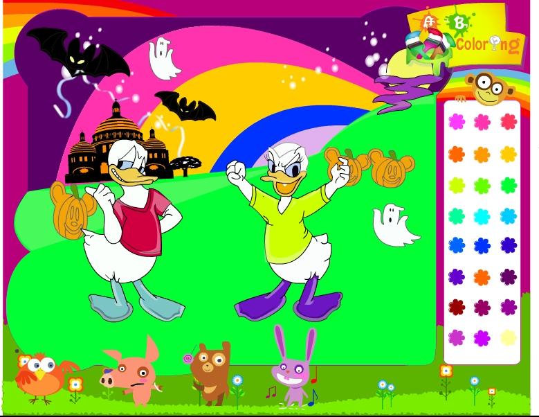 Играть бесплатно в флеш игру Дональд и Магика - играй онлайн